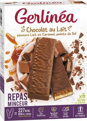 Barre Chocolat Caramel pointe de sel - Produit - fr