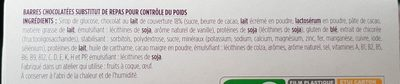 Barre Chocolat Caramel pointe de sel - Ingrédients - fr
