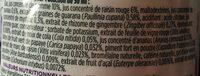 Red detox - Ingredients - fr