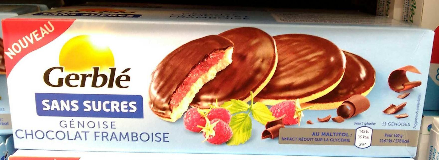 Génoise Chocolat Framboise - Product - fr