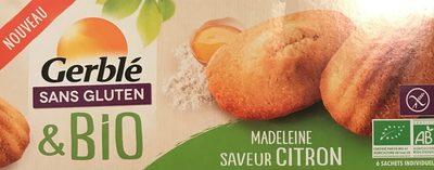 Madeleine saveur citron - Product