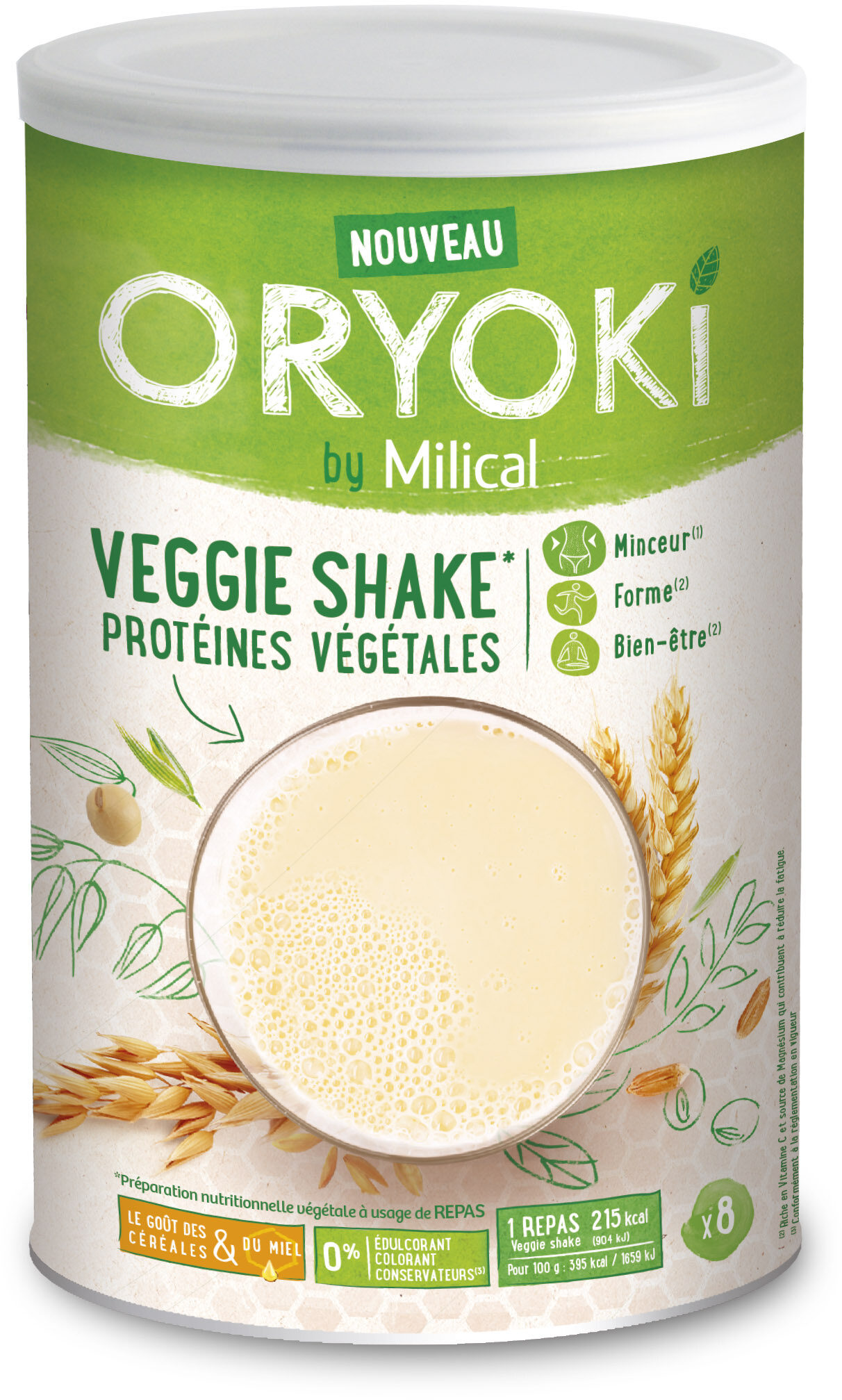Milical Oryoki - Veggie Eco Recharge - Product - fr