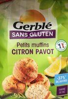 Petits muffins citron pavot - Produit - fr