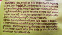 Maxi tranches nature - Ingrédients - fr