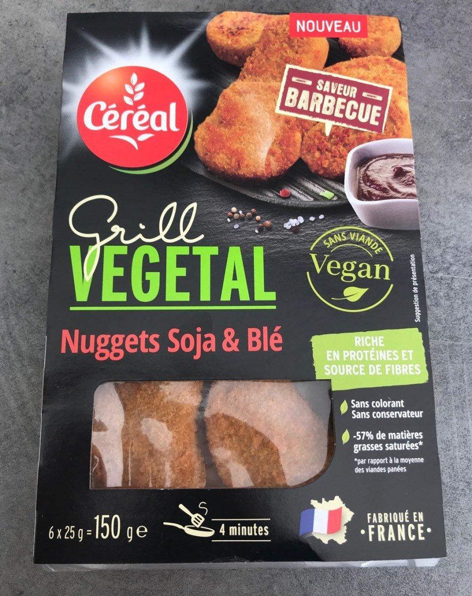 Grill vegetal nuggets soja et blé - Produit - fr