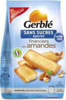Financiers aux amandes sans sucres ajoutés - Produit - fr