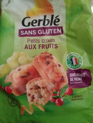 Petits cakes aux fruits - Product