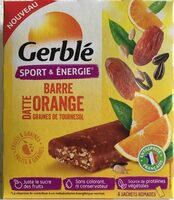 Barre Datte Orange et Graines de Tournesol - Product