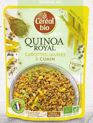Quinoa Royal - Carottes jaunes et cumin - Produit - fr