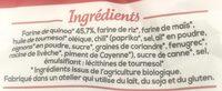 Les aperitifs quinoa chili doux - Ingredienti - fr