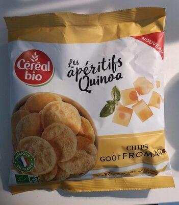 Les apéritifs Quinoa goût fromage - Product - fr