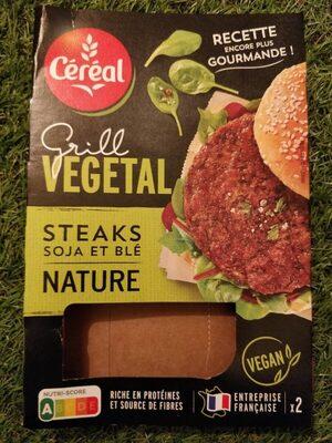 Grill végétal steak soja et blé - Producte - fr