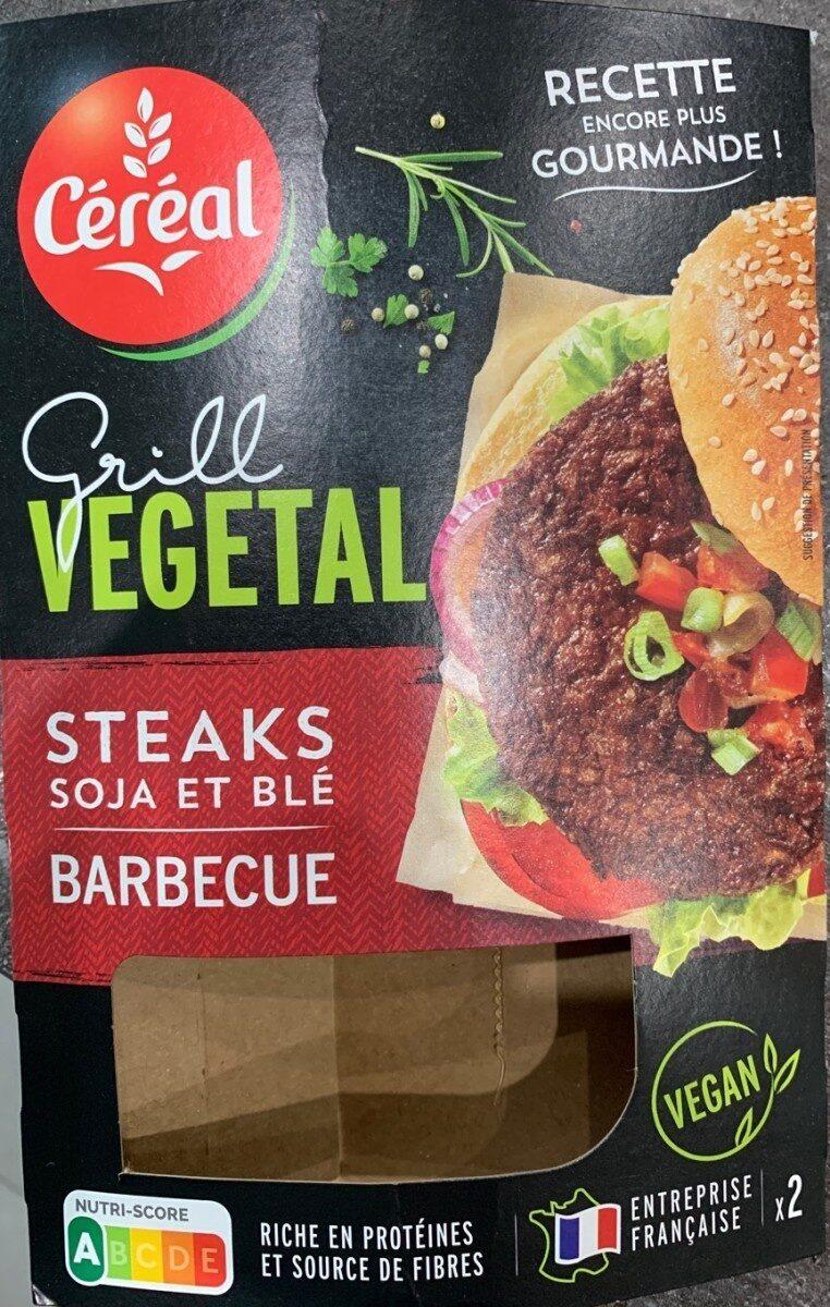 Steak soja et blé barbecue - Produit - fr