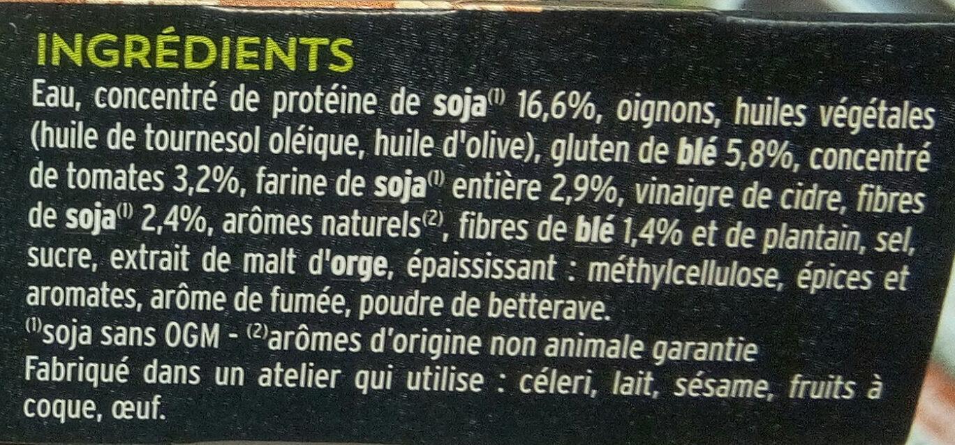 Steak soja et blé barbecue - Ingrédients - fr