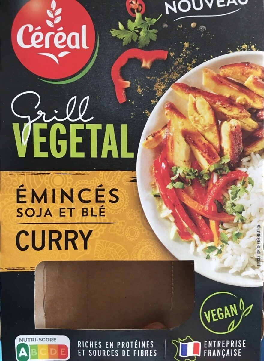 Grill Vegetal Émincés soja et blé Curry - Product