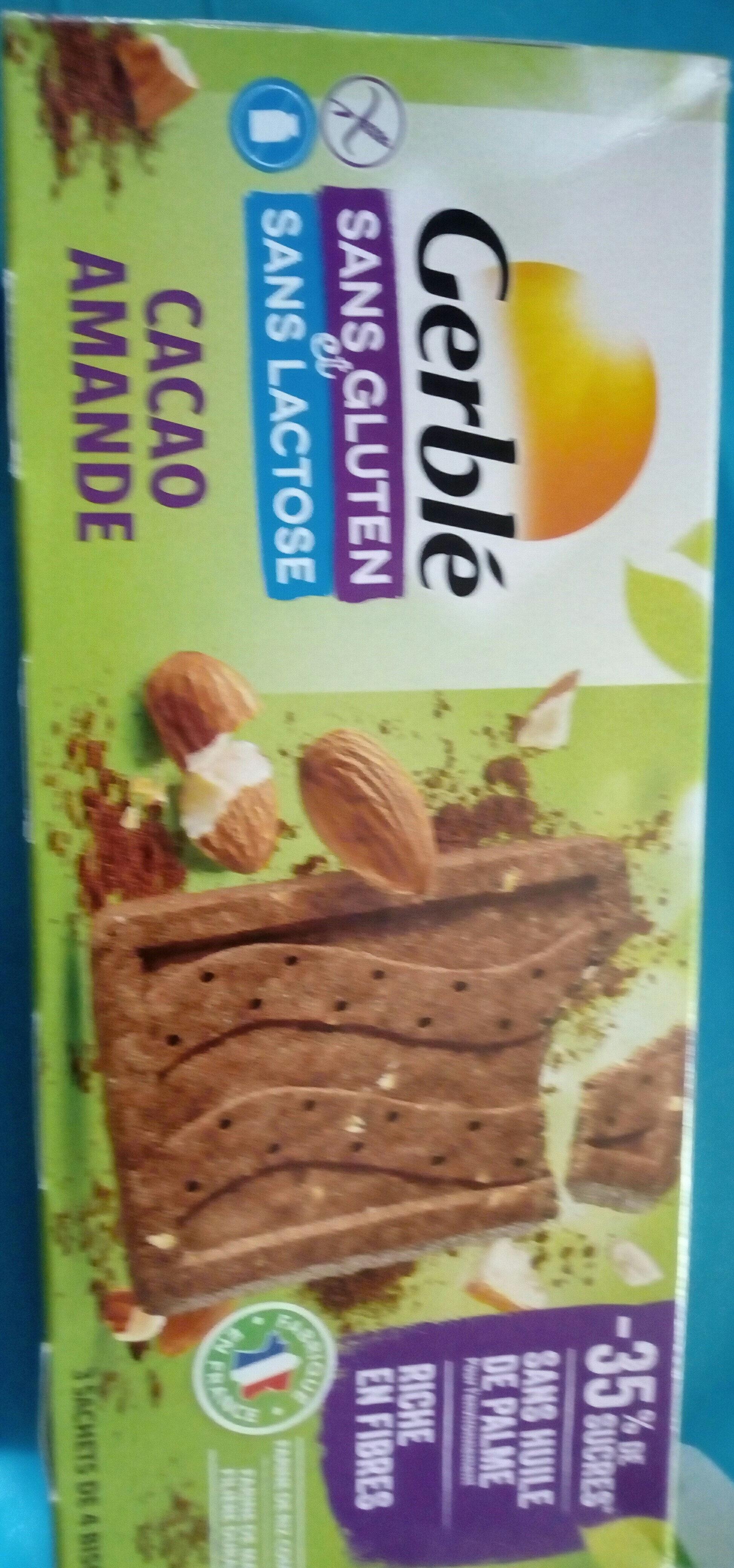 Biscuits Cacao Amande - Produit - fr
