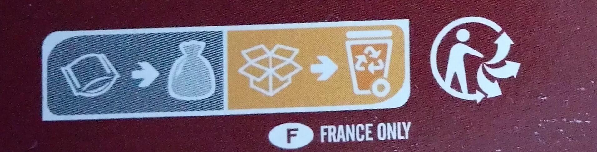 Galettes de fèves & blé patate douce, dattes et épices douces - Istruzioni per il riciclaggio e/o informazioni sull'imballaggio - fr
