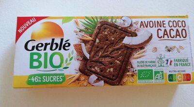 Gerble bio avoine coco cacao - Produit - fr