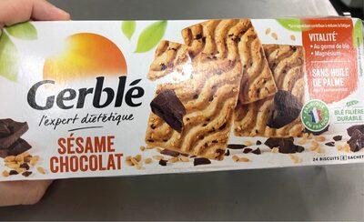 Biscuit Sésame chocolat - Produit - fr