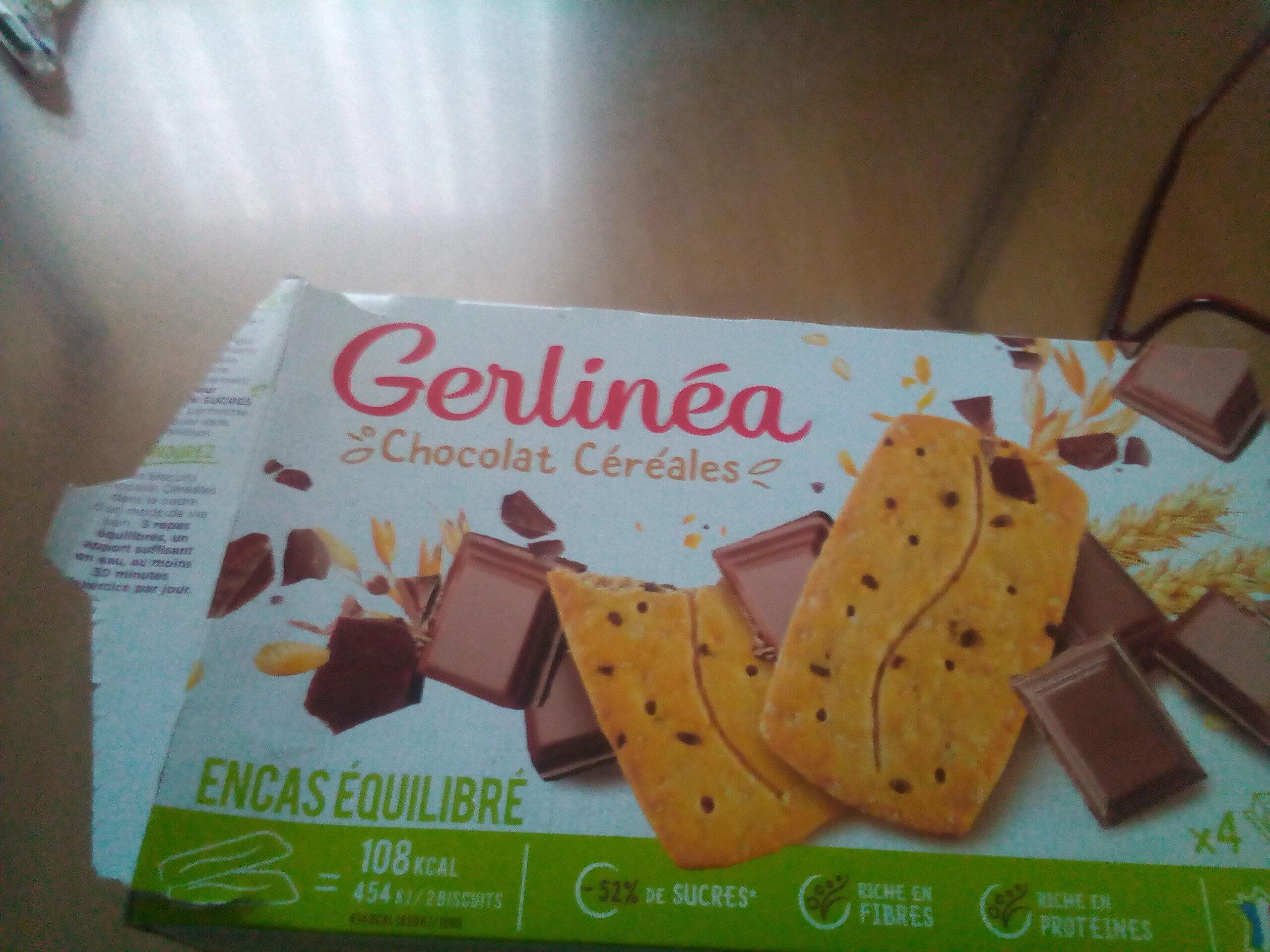 gerlinea chocolat céréales - Product - fr
