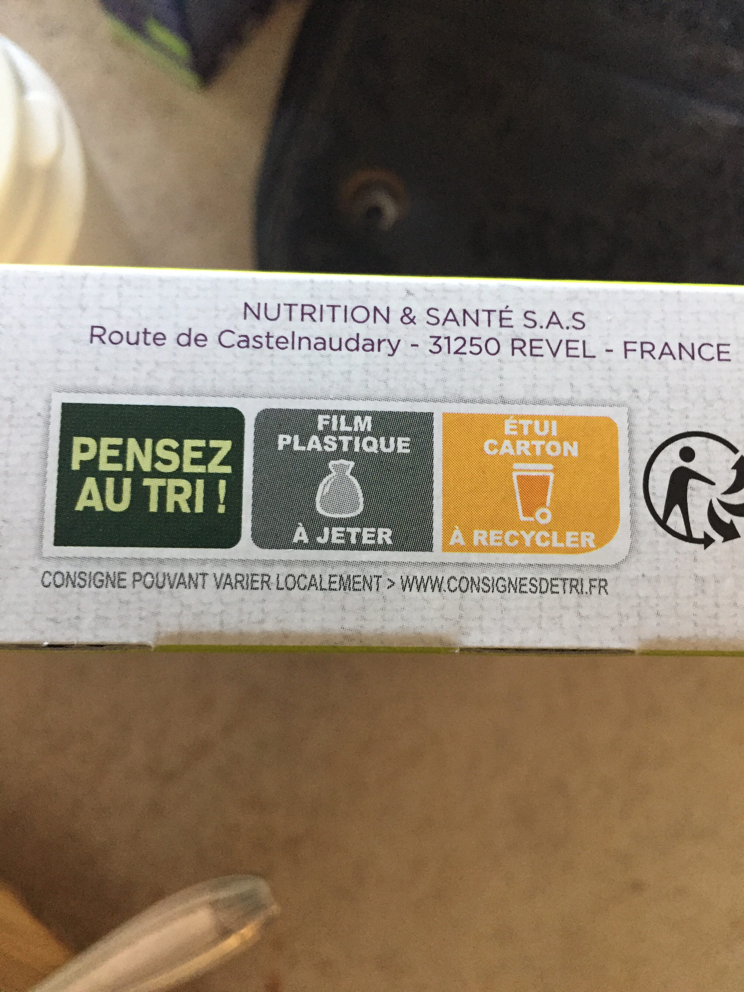 gerlinea chocolat céréales - Recycling instructions and/or packaging information - fr