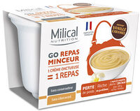 Milical Go - Coupelle repas vanille caramel - Product - fr