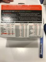 Milical Go - Coupelle repas vanille caramel - Voedigswaarden