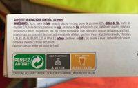 Barre Pomme Myrtille avec arôme naturel - Ingrédients