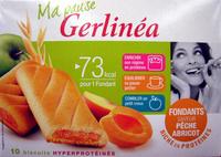 Biscuits fondants saveur pêche abricot Gerlinéa - 产品 - fr