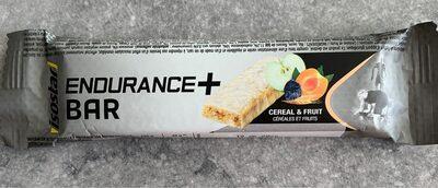 Isostar Long Distance Endurance Barre Sport Céréales & Fruits - Informations nutritionnelles - fr