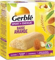 Barre amande Gerblé - Produit - fr