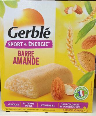 Barre amande Gerblé - Instruction de recyclage et/ou informations d'emballage - fr