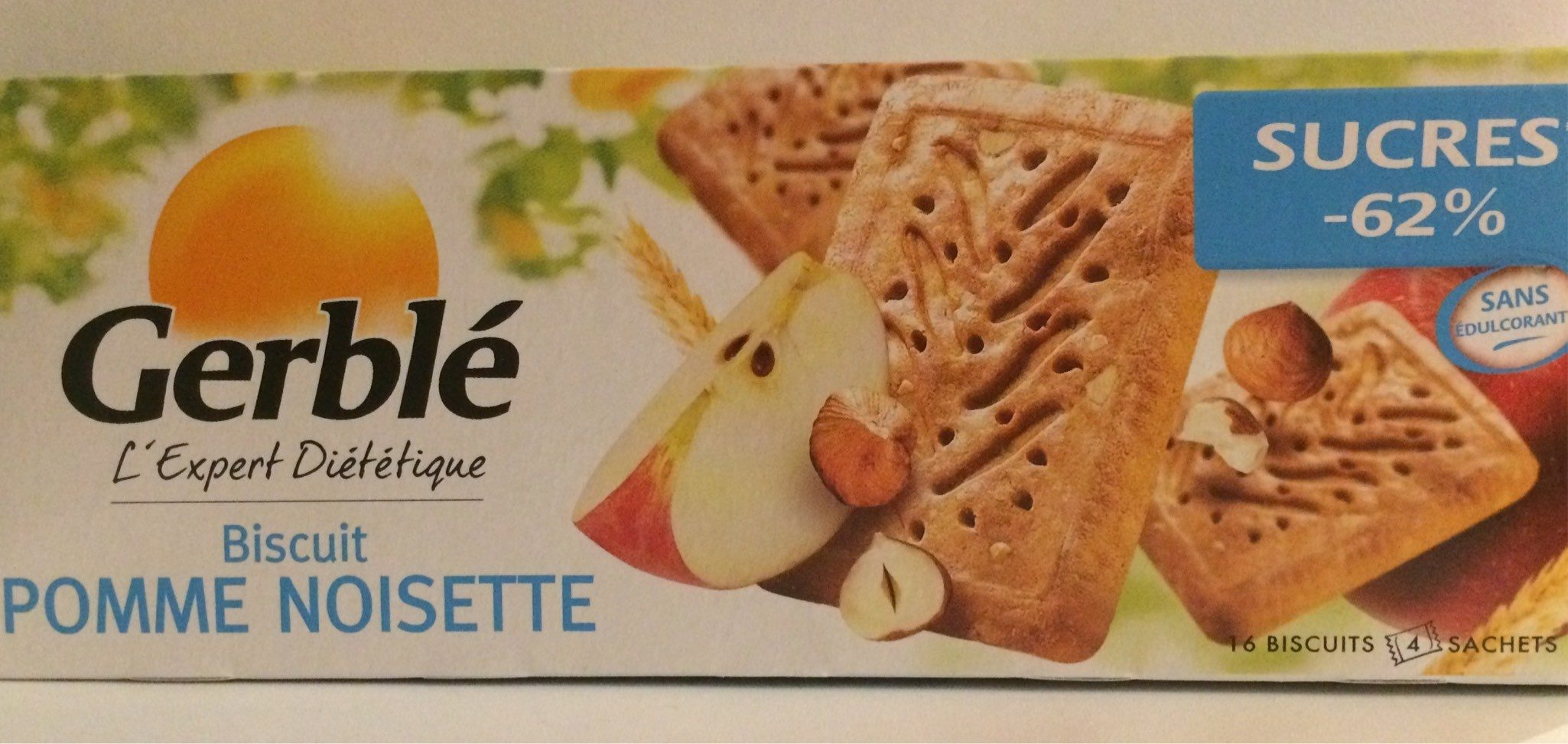 Biscuit Pomme Noisette - Produit