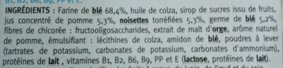 Biscuit Pomme Noisette - Ingredients