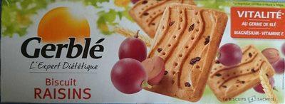 Biscuit raisin - Produit - fr