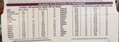 Mon Repas Minceur Boisson saveur Chocolat - Informations nutritionnelles - fr