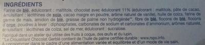 Croustillant Chocolat - Ingrediënten - fr