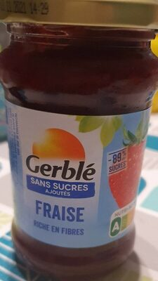 Fraise Sans sucres ajoutés -89% - Product - fr