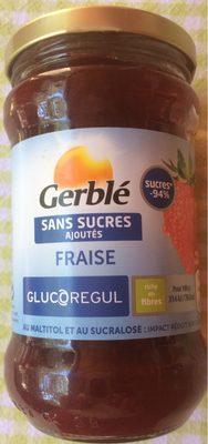 Confiture de fraises sans sucres ajoutés - Product