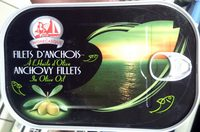 Filets d'anchois à l'huile d'olive - Product