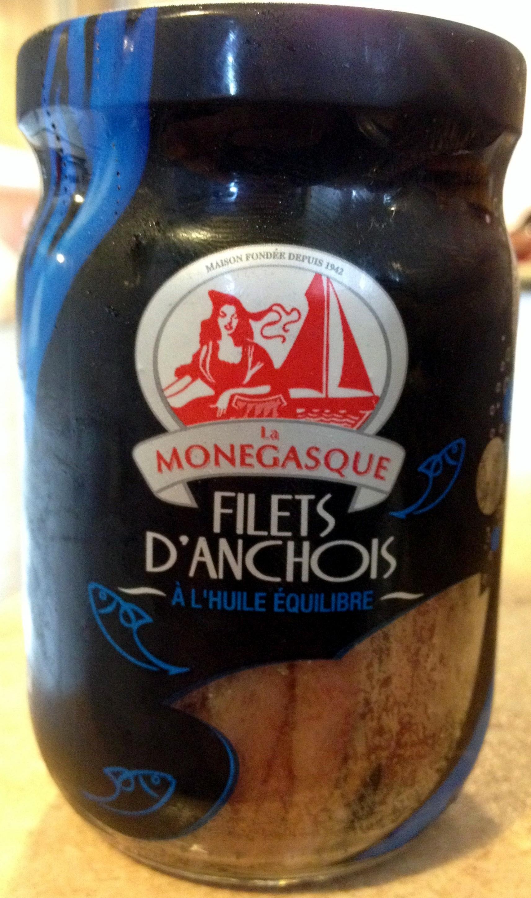 Filets d'anchois à l'huile équilibre - Product - fr