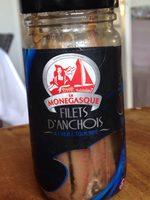 Filets d anchois - Produit - fr