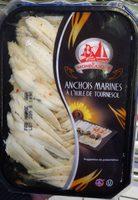 Anchois marinés à l'huile de tournesol - Produit - fr