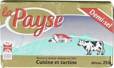 Cuisine et Tartine Demi-Sel - Produit - fr
