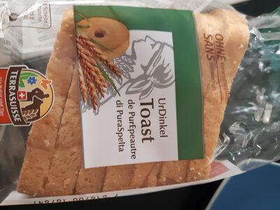 Toast à l'épautre - Product