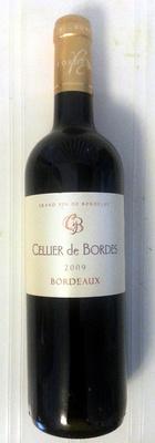Cellier de Bordes 2009 - Produit