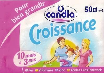 Candia Croissance 10 mois à 3 ans - Product - fr