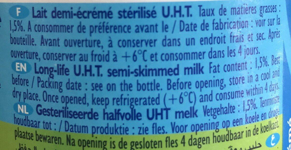 Le Lait - Ingrediënten