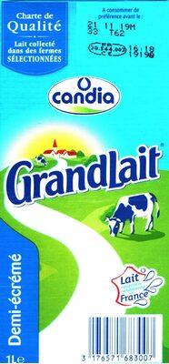 GrandLait Demi-écrémé - Produit