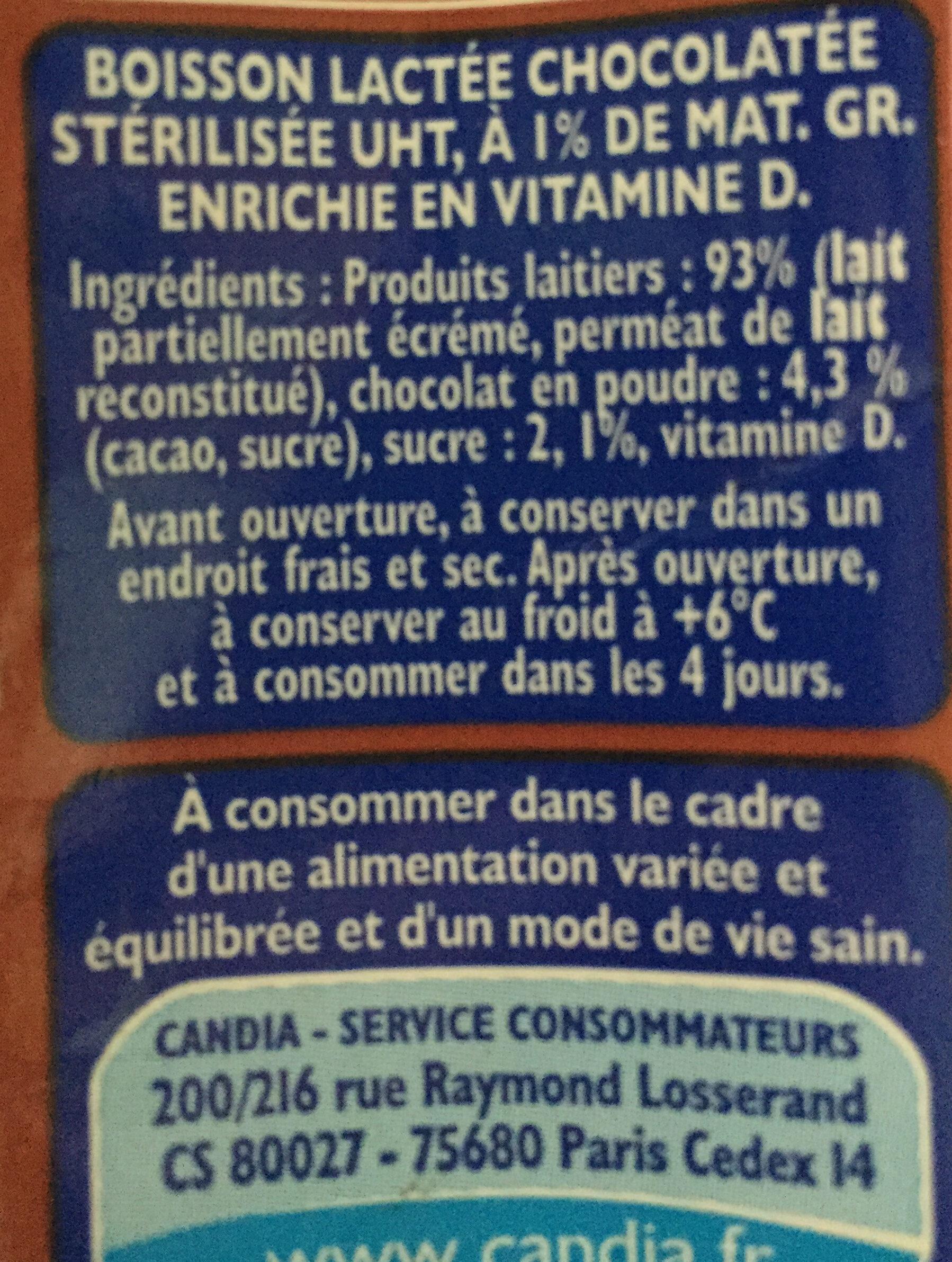 Candy'Up Chocolaté - Ingredients - en
